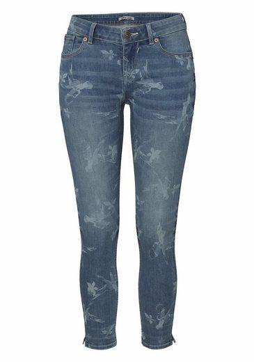 Garcia Slim-fit-jeans, Mit Allover-print