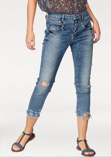 Herrlicher Boyfriend-Jeans »SHYRA CROPPED« Normal Waist im Boyfriend-Cut