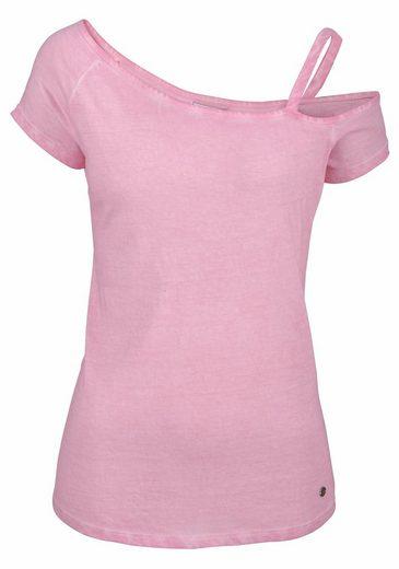 AJC T-Shirt, asymmetrisch mit einem Träger
