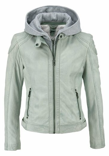 Gipsy Lederjacke LAMAS, im coolen 2-in-1-Look