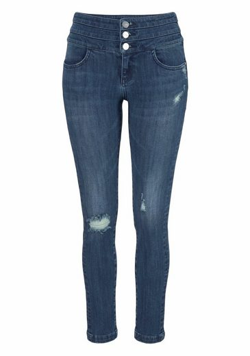 MISS SIXTY Skinny-fit-Jeans BLUE ATTACK, im angesagten Corsagen-Look