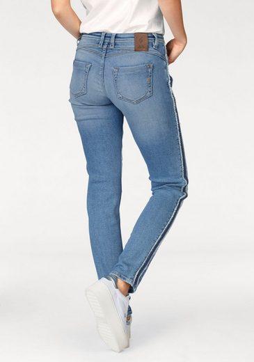 BLUE FIRE Slim-fit-Jeans ALEXA, mit Seitenstreifen im Used Look