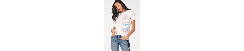 Pepe Jeans T-Shirt TESA, mit Logoprint