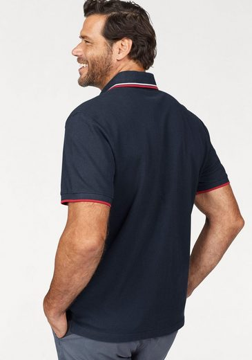 Man's World Poloshirt, in Piqué-Qualität