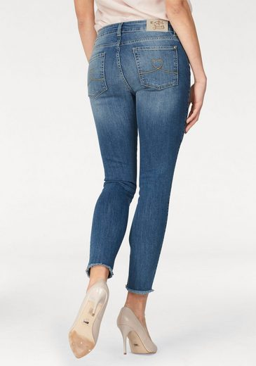 Desigual Skinny-fit-Jeans, mit Tropical Patches