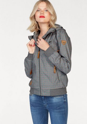 Ragwear Windbreaker Nuggie A, mit Pünktchen-Alloverprint