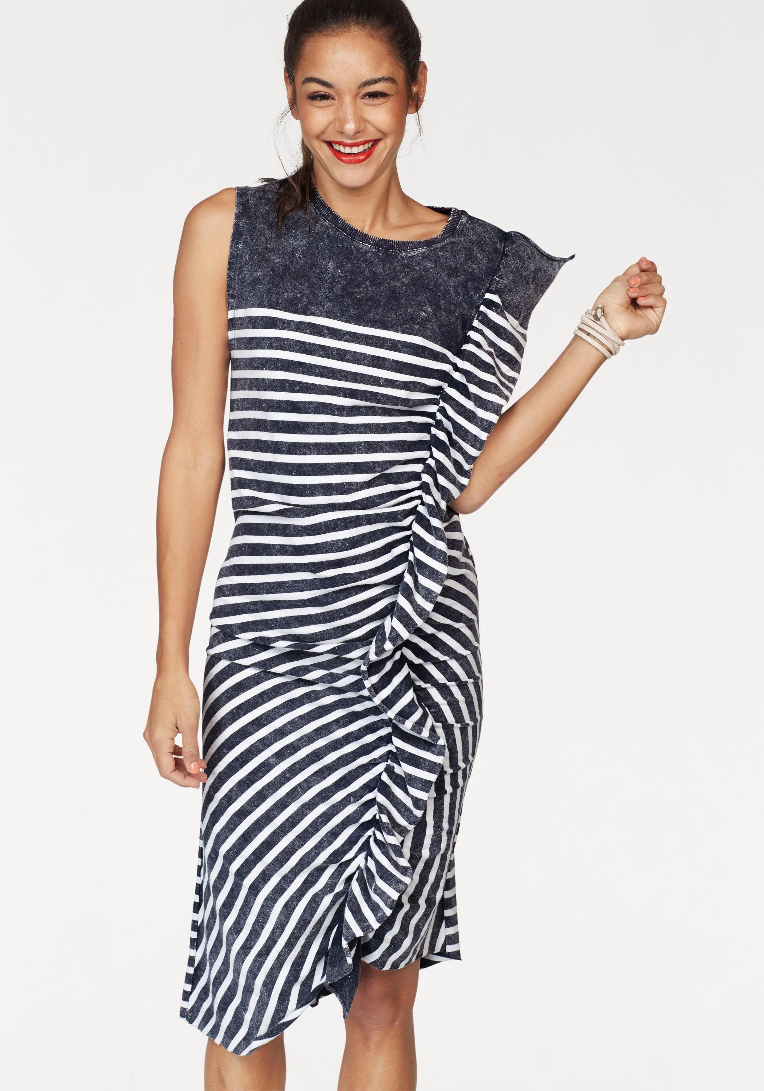 Cotton Candy Jerseykleid »Elina« im Streifen-Design