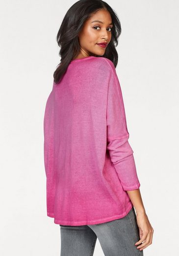 Cotton Candy Langarmshirt Bente, mit Pailletten