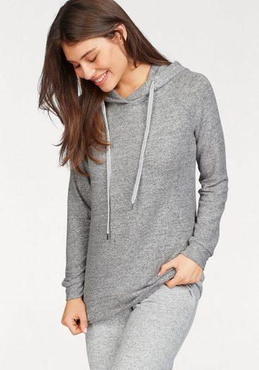 Grey Sweater Melange Mit Kapuze Ringella TlFK1cJ