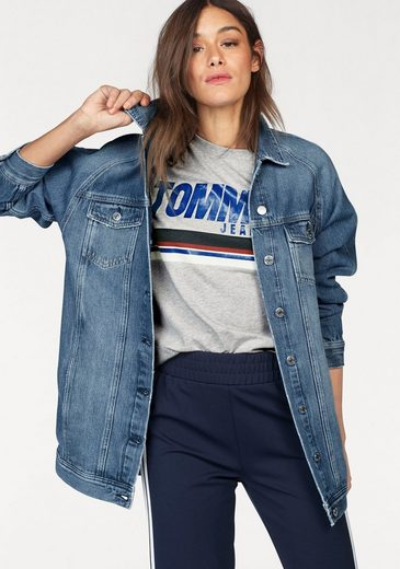 TOMMY JEANS Jeansjacke, in Oversized-Form