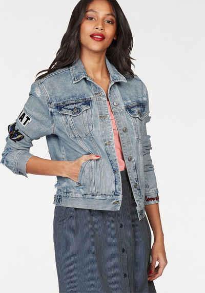 Jeansjacken in großen Größen » Plus Size Jeansjacke kaufen   OTTO 36cae6bf59
