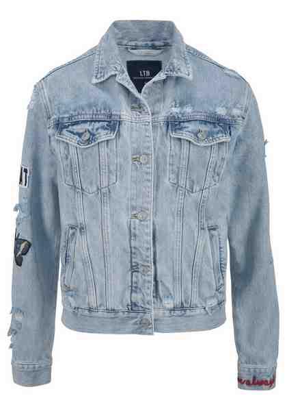 LTB Jeansjacke »VIVA« mit großer Applikation am Rücken