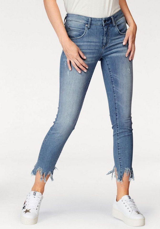 92c277ef0f8a Mavi Skinny-fit-Jeans »ADRIANA ANKLE« im Used-Look   OTTO