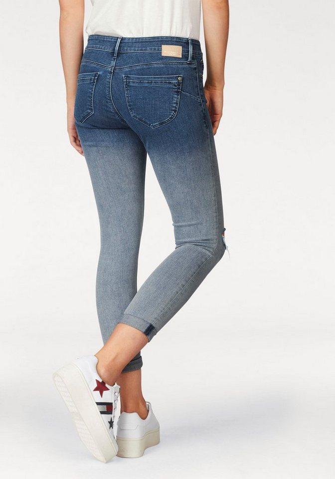 Mavi Skinny-fit-Jeans »LEXY« im Trend Dip-Dye