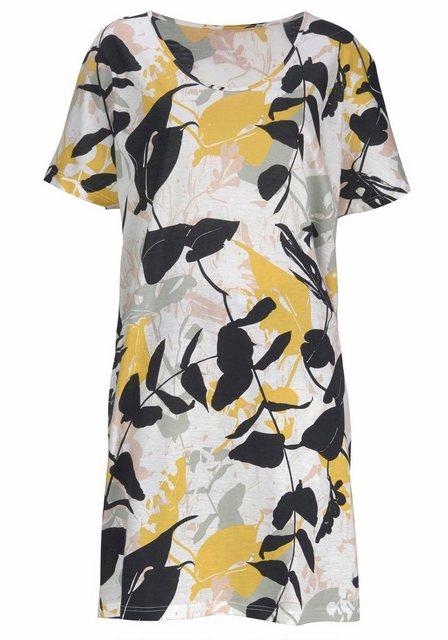 Calida Sleepshirt mit floralem Muster