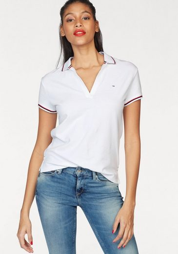 Tommy Jeans Polo Shirt, Striped With Sports