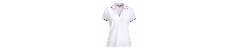 Poloshirt mit TOMMY JEANS Poloshirt Streifen mit sportlichen sportlichen JEANS Streifen TOMMY d88Sqg