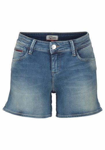 Tommy Jeans Jeanshotpants, À Retrousser