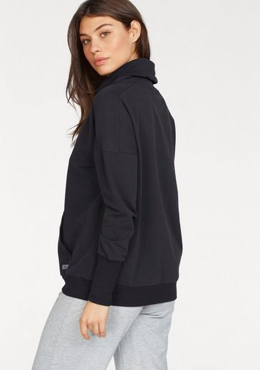 Venice Beach Sweatshirt Lenka aus Baby Fleece mit Stehkragen