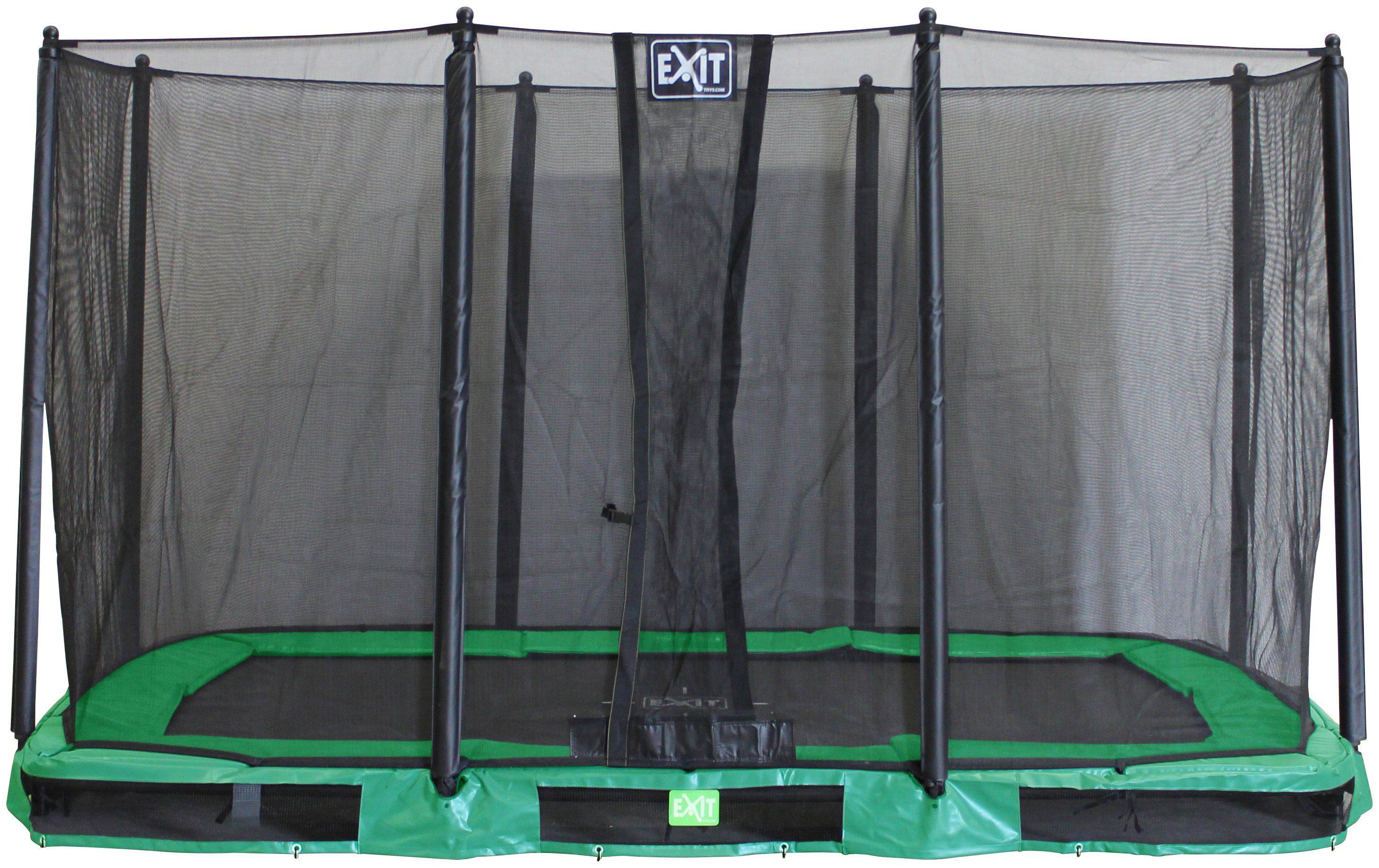 EXIT Trampolin »InTerra«, grün, BxT: 366x214 cm