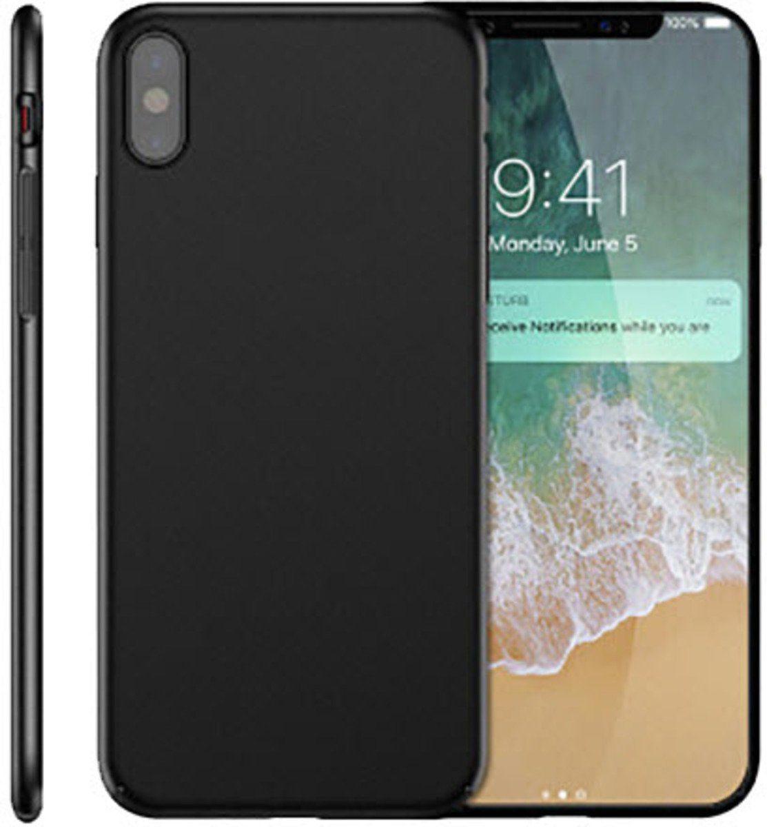PEDEA Handytasche »Hybrid Hardcase für Apple iPhone X«