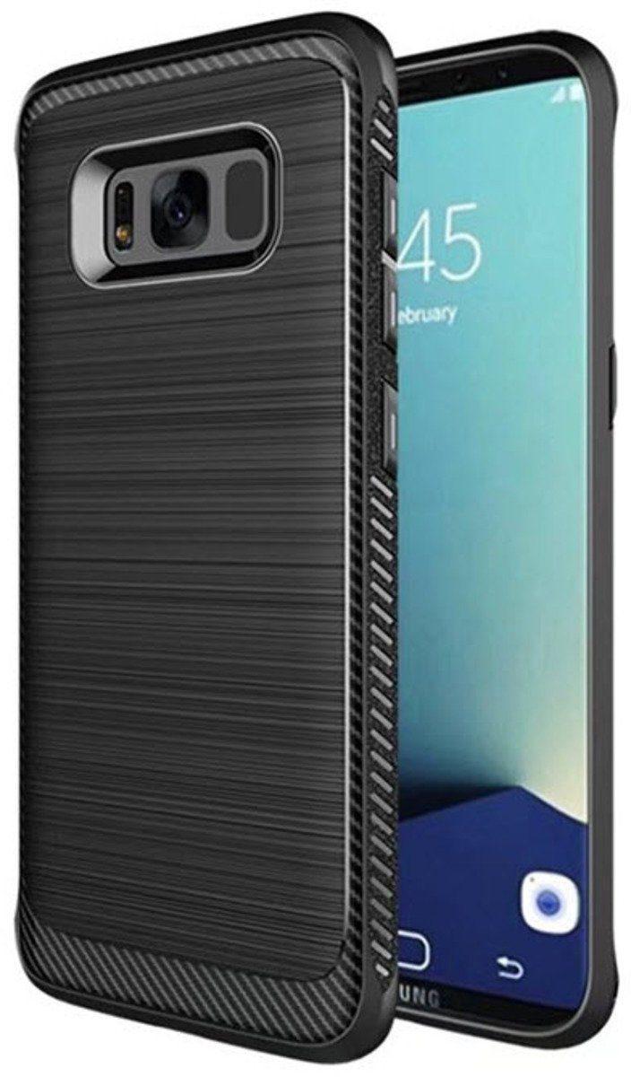 """PEDEA Handytasche »Carbon Case """"Meta"""" für Samsung Galaxy S8«"""
