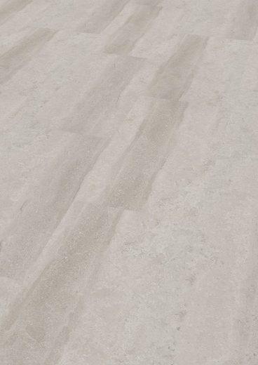 ter Hürne Vinylboden »Stein Lucca weiß*«, mit fühlbarer Oberfläche