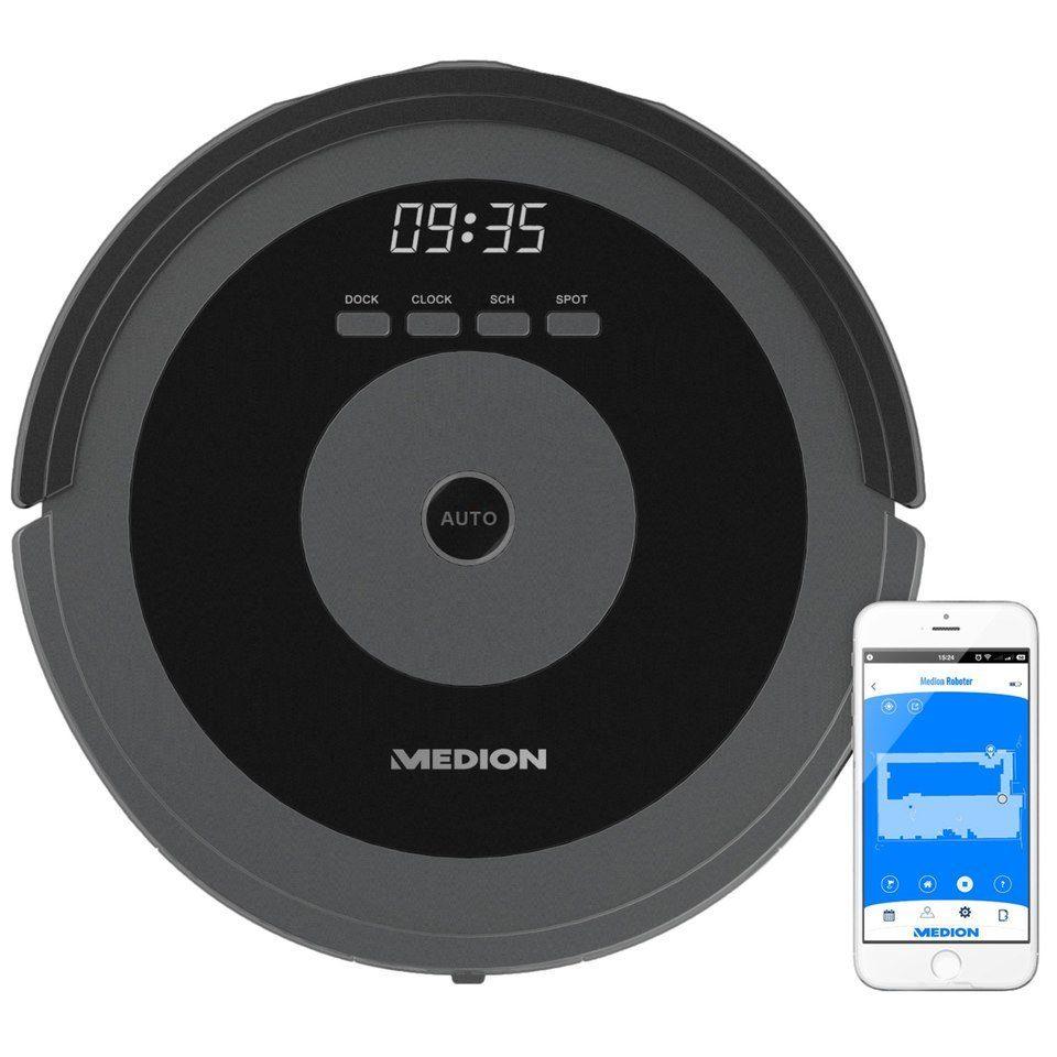 MEDION® Saugroboter mit Timer-Funktion »MD 17225, beutellos«