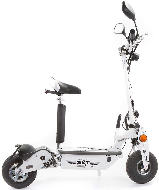 SXT Scooters Elektroscooter, 500 Watt, 20 km/h, »SXT500 EEC Bleiakku«