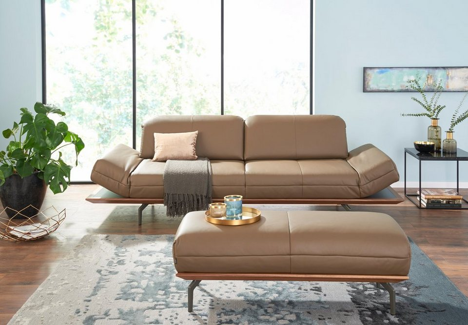 Hülsta Sofa 4 Sitzer Sofa Hs420 Wahlweise In Stoff Oder Leder
