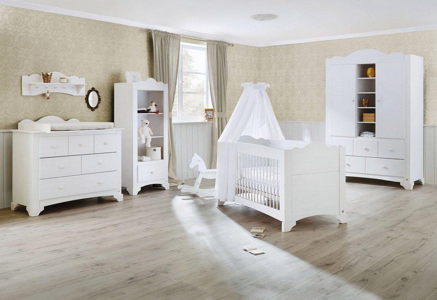 Weiss Holz Teilmassiv Komplett Babyzimmer Online Kaufen Mobel