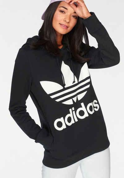 adidas Originals Sweatshirt »TREFOIL HOODIE« Reine Baumwolle 595eeddf6f