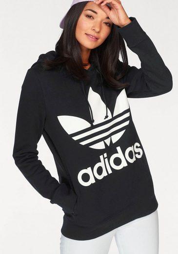 adidas Originals Sweatshirt »TREFOIL HOODIE« Reine Baumwolle