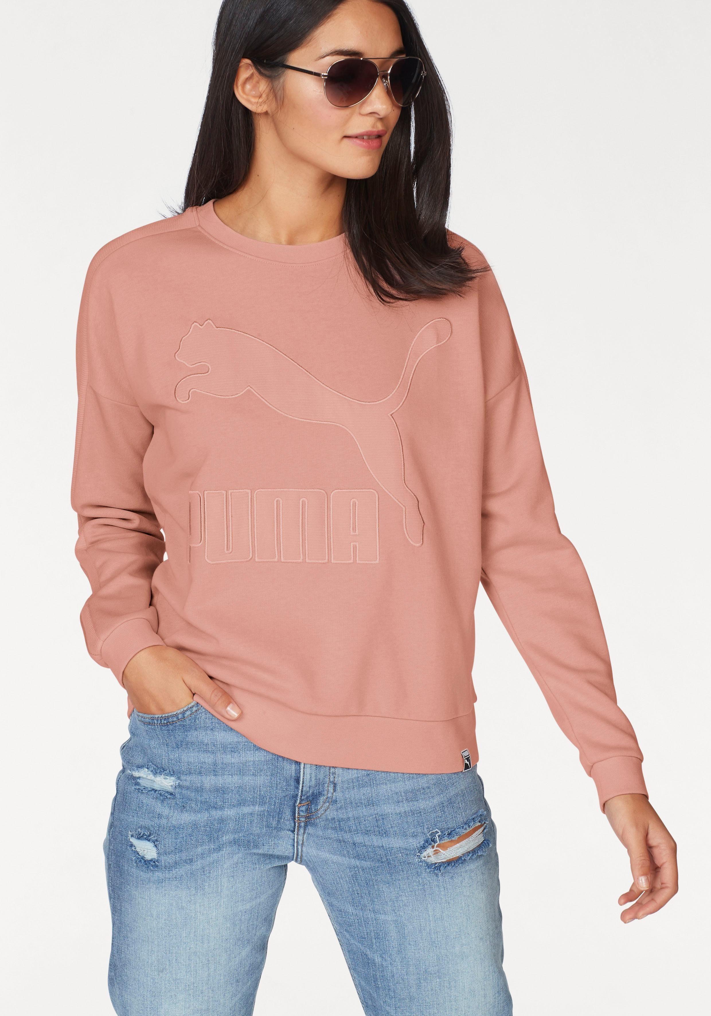 PUMA Sweatshirt »CLASSICS STRUCTURED T7 CREW«
