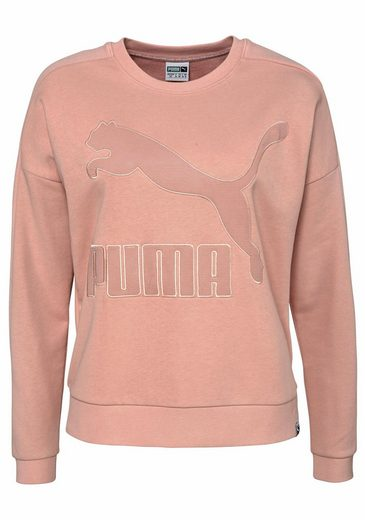 PUMA Sweatshirt CLASSICS STRUCTURED T7 CREW