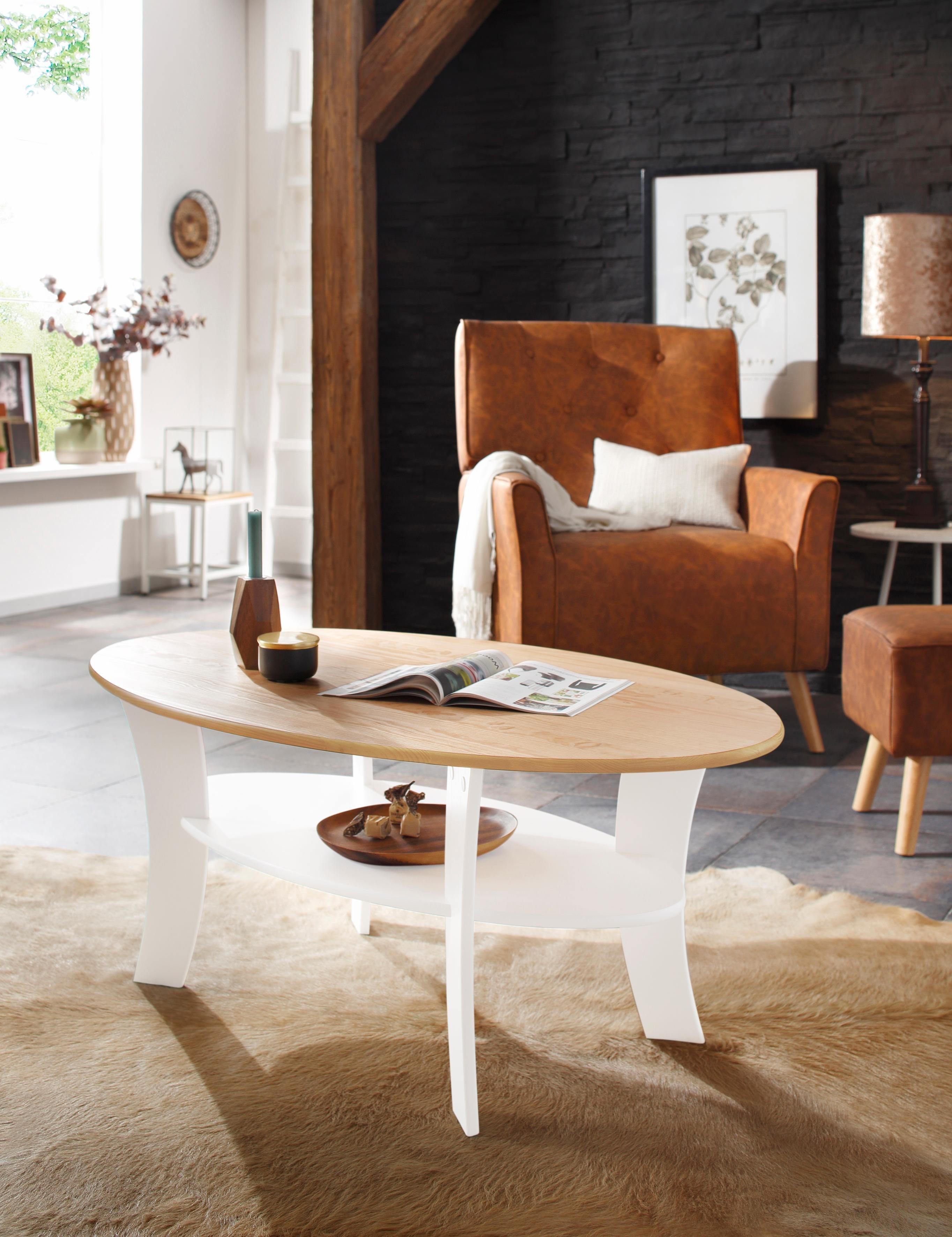 couchtisch oval preisvergleich die besten angebote online kaufen. Black Bedroom Furniture Sets. Home Design Ideas