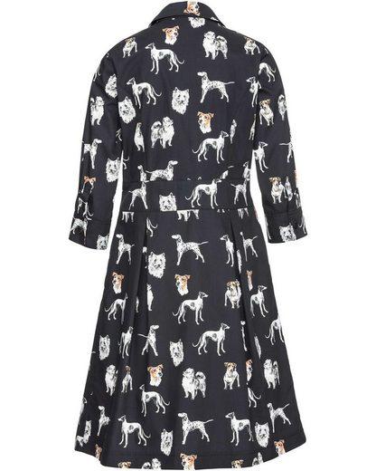 Highmoor Hemdblusenkleid mit Hundemotiv