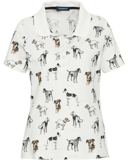 Highmoor Jerseyshirt mit Hundemotiven