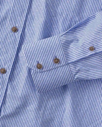 Reitmayer Streifenhemd mit Muster