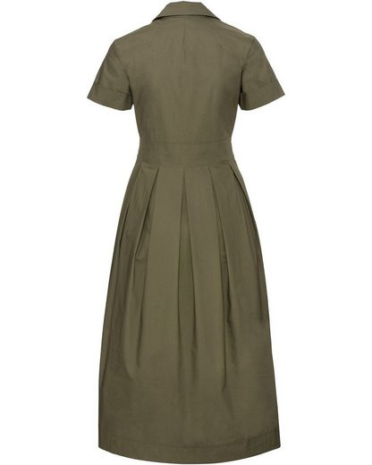 High Moor Dress With Button Tape