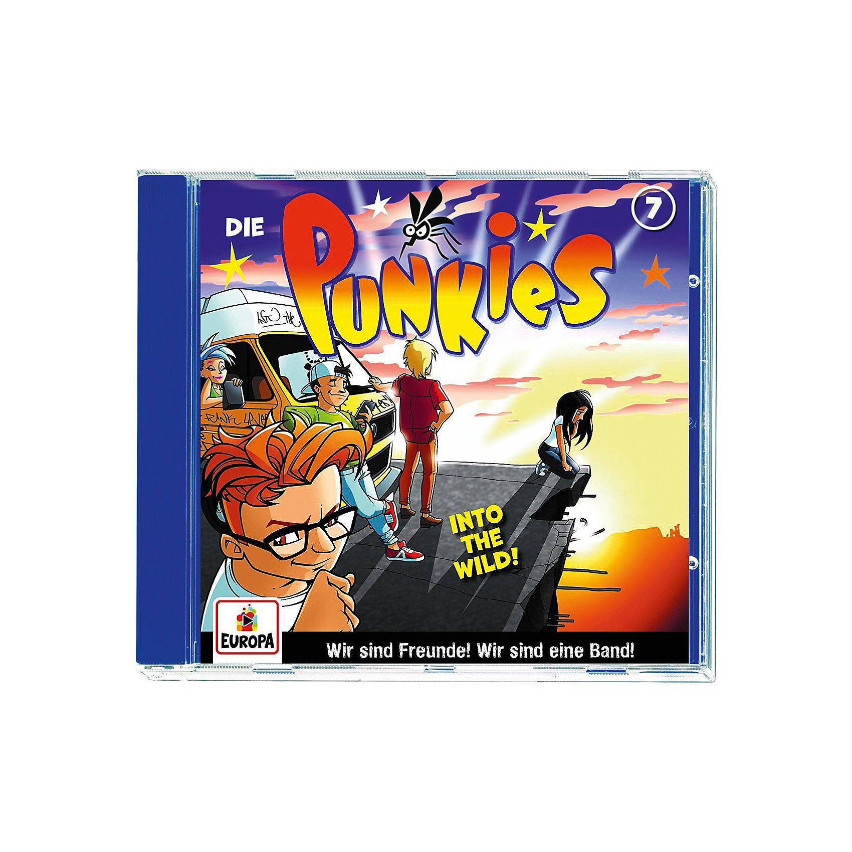 Sony CD Die Punkies 07 - Into the Wild!