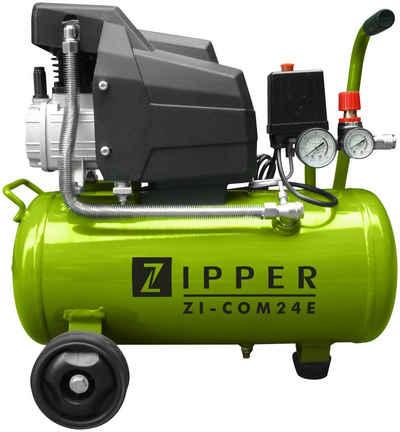 ZIPPER Kompressor »ZI-COM24E«, 1100 W, max. 8 bar, 24 l