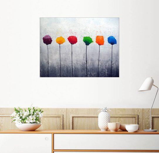 Posterlounge Wandbild - Yannick Leniger »Sechs Blüten«