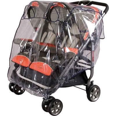 sunnybaby Kinderwagen-Regenschutzhülle »Regenverdeck für Zwillingsbuggy, marine«