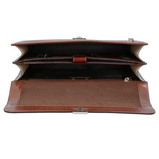 Picard Office Messenger Businesstasche Leder 37 cm Laptopfach