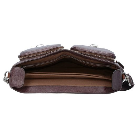 The Bridge Jazz Messenger Businesstasche Leder 40 cm Laptopfach