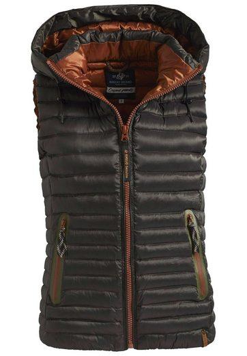 Khujo Down-vest Enisa, With Detachable Hood