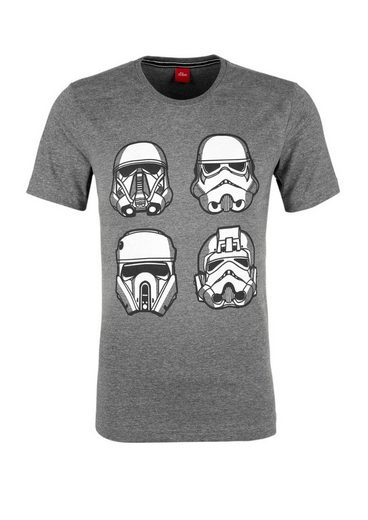S.oliver Red Label T-shirt Mit Star Wars-print