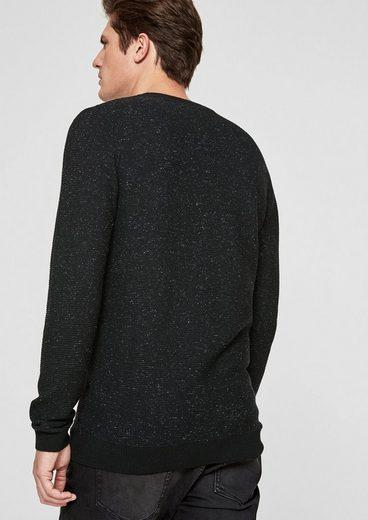 s.Oliver BLACK LABEL Wollpullover aus Kaschmir-Mix