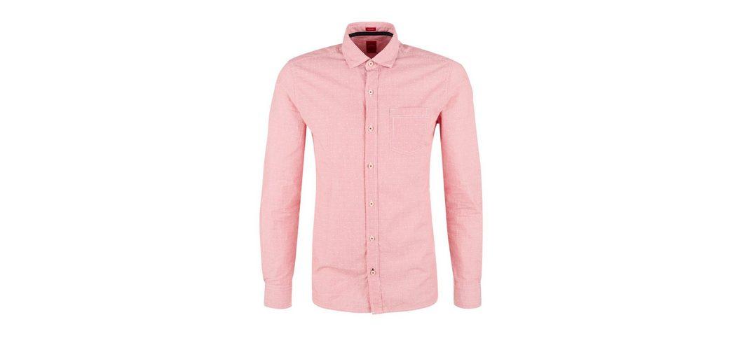 s.Oliver RED LABEL Regular: Hemd mit Muster-Mix Schnelle Lieferung Auslass Offizielle Seite Günstigsten Preis Günstig Online cmZ3t6